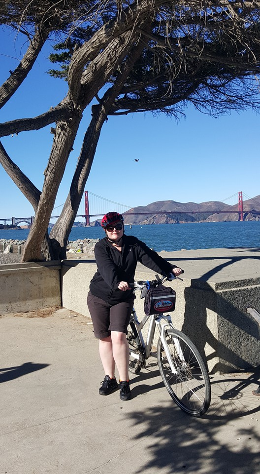 Bike Riding around the bay