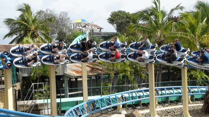 Seaworld Jet Ski Coaster- Credit Theme Park Review