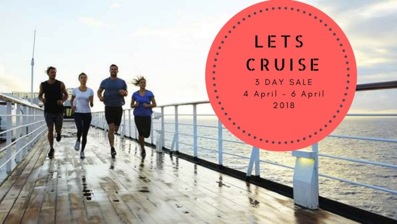 Snowy River Travel 3 day cruise sale april 2018